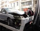 Τροχαίο ατύχημα στο κέντρο του Πειραιά (φωτο)