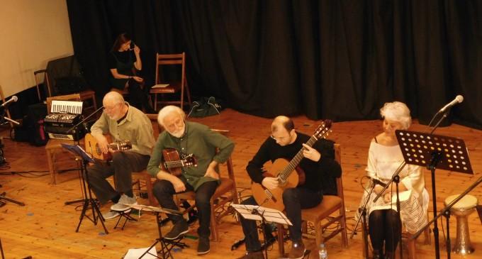 Mουσική βραδιά «Τρεις κιθάρες – πέντε φωνές»