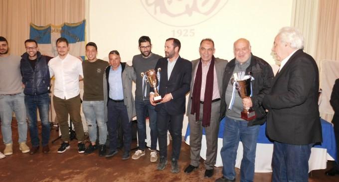 Πίτα και βραβεύσεις από την Ένωση Ποδοσφαιρικών Σωματείων Πειραιά