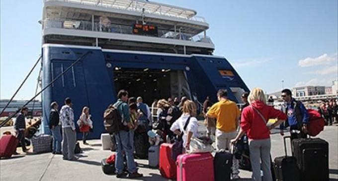 Αύξηση 1,3% της συνολικής διακίνησης επιβατών στους ελληνικούς λιμένες
