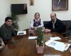 Επίσκεψη Νίκου Μπελαβίλα στο Τζάνειο νοσοκομείο