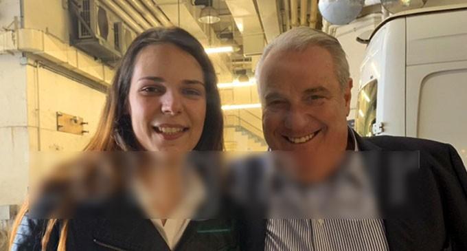 Δείτε τις πρώτες φωτογραφίες μετά την αποφυλάκιση της Ειρήνης Μελισσαροπούλου με τον Δικηγόρο της