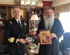 Στον Σεβασμιώτατο Μητροπολίτη Πειραιώς ο νέος Διοικητής της Σχολής Ναυτικών Δοκίμων