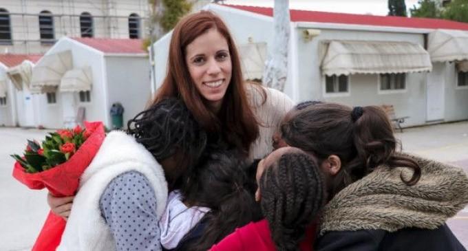 Επίσκεψη της Κατερίνας Στεφανίδη, στο Χατζηκυριάκειο Ίδρυμα Παιδικής προστασίας
