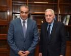Συνάντηση Κουβέλη με τον πρέσβη του Κατάρ