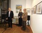 Εγκαίνια έκθεσης ζωγραφικής Αιμίλιου Γάσπαρη στη Φιλολογική Στέγη Πειραιά
