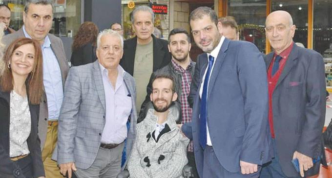Νίκος Χουρσαλάς – Υποψήφιος Δήμαρχος Συγκέντρωση Νίκης στον Κορυδαλλό
