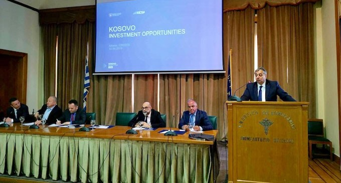 «Συνάντηση επιχειρήσεων- μελών Εμπορικού και Βιομηχανικού Επιμελητηρίου Πειραιώς και Εμπορικού Επιμελητηρίου Κοσόβου»