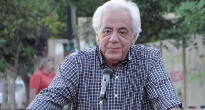 Ο Δήμαρχος Κορυδαλλού Σταύρος Κασιμάτης μιλάει σήμερα στο Σχιστό