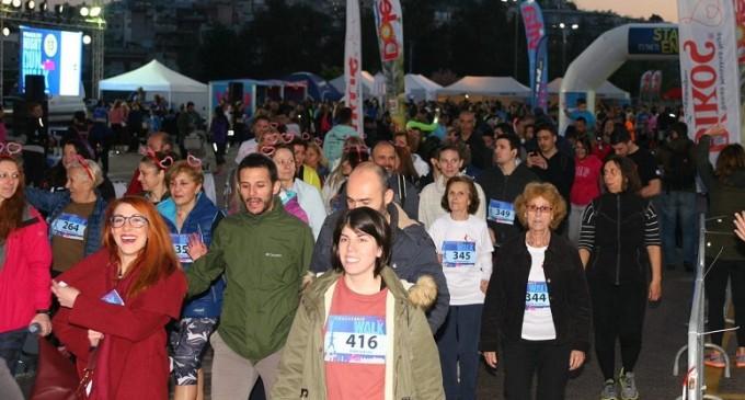 Ρεκόρ συμμετοχής στον αγώνα δρόμου «Endomarch Piraeus Night Run/WALK»