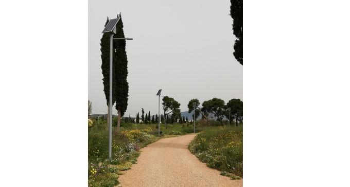 Εκσυγχρονίζεται ο ηλεκτροφωτισμός στο Πάρκο «Αντώνης Τρίτσης»