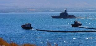 Άσκηση αντιμετώπισης ρύπανσης της θάλασσας