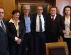 Ο υποψήφιος δήμαρχος Πειραιά Νίκος Βλαχάκος συναντήθηκε με τον Πρόεδρο και τα μέλη του Δικηγορικού Συλλόγου Πειραιά,