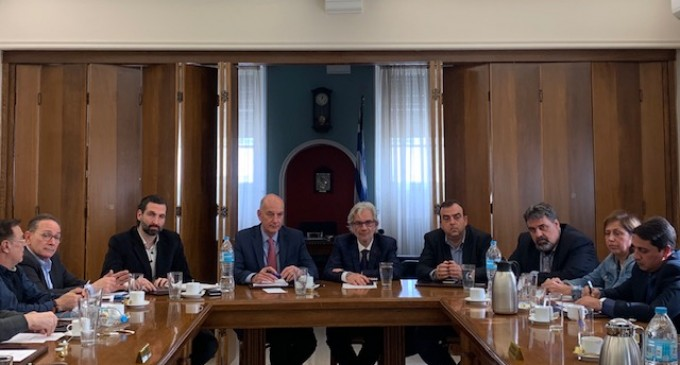 ΕΣΠ: Συνάντηση με Νίκο Βλαχάκο