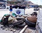 500 κιλά απορρίμματα από τον βυθό του Αγκιστρίου.. από τους δύτες της «We Dive We Clean»