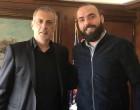 Νίκος Βιρβίλης και Ζήσης Ούτρας με τον Γιάννη Μώραλη