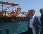 Ετοιμάζεται η πλατφόρμα για την εγκατάσταση του υποθαλάσσιου αγωγού Σαλαμίνας-Αίγινας