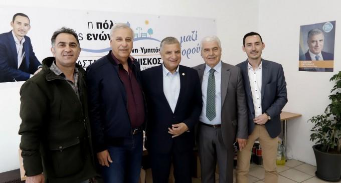 Επίσκεψη του υποψήφιου Περιφερειάρχη Αττικής Γ. Πατούλη στο Δήμο Δάφνης -Υμηττού