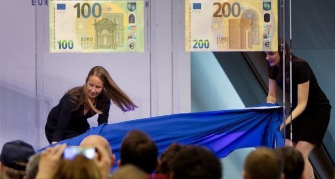 Αυτά είναι τα νέα χαρτονομίσματα των 100 και 200 ευρώ