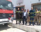 Επίσκεψη Π.Χατζηπέρου στον Πυροσβεστικό Σταθμό Κυθήρων