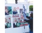Έκαψαν το προεκλογικό περίπτερο του ΚΙΝΑΛ στην πλατεία Κοραή