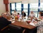 Συνάντηση Φώτη Κουβέλη με τον Πρέσβη της Δανίας Klaus A.Holm