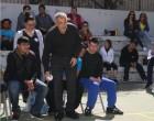 Ο Δήμαρχος Πειραιά στο τουρνουά Boccia με τη συμμετοχή των μαθητών του Ε.Ε.Ε.Ε.Κ.
