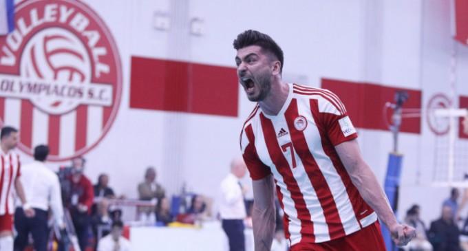 Βόλεϊ ανδρών: Ο Ολυμπιακός κατέκτησε το πρωτάθλημα, 3-0 σετ τον ΠΑΟΚ