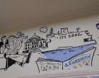 Όλος ο Πειραιάς ζωγραφισμένος… στα γραφεία της εφημερίδας «ΚΟΙΝΩΝΙΚΗ»