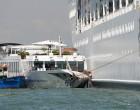 Σύγκρουση κρουαζιερόπλοιου με προβλήτα και τουριστικό πλοιάριο στην Βενετία