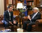 Όσα είπε ο πρωθυπουργός στον Πρόεδρο της Δημοκρατίας (βίντεο)