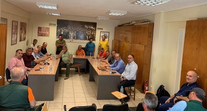 Κοινές δράσεις Βιοτεχνικού Επιμελητηρίου Πειραιά – εργαζομένων για τα Ναυπηγεία Σκαραμαγκά