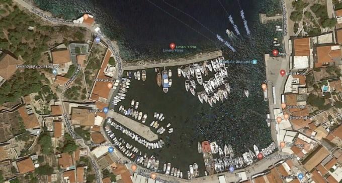 Αποκατάσταση κρηπιδωμάτων στο λιμάνι της Ύδρας
