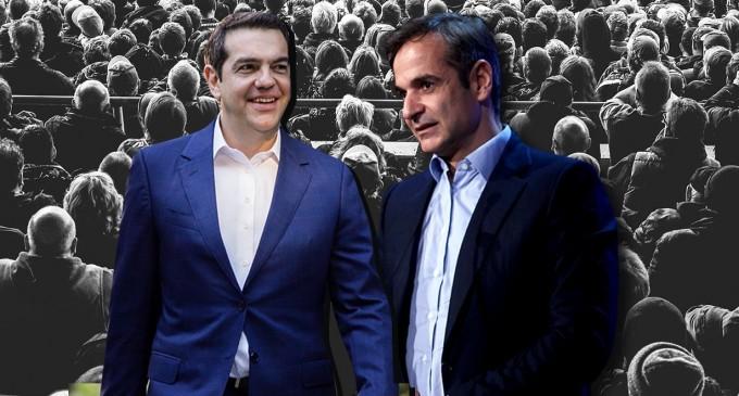 Εκλογές 2019-Δημοσκόπηση Open TV: Εντείνεται ο διπολισμός προς αυτοδυναμία η ΝΔ