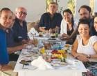 «Καλπάζει» η Νόνη Δούνια – «Αποβίβαση» Μαρινάκη με την υποψήφια βουλευτή Α' Πειραιά και Νήσων στην Αίγινα