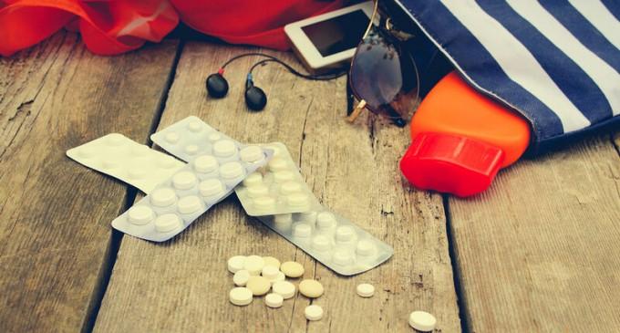 Φαρμακείο διακοπών: Δείτε τι πρέπει να περιέχει