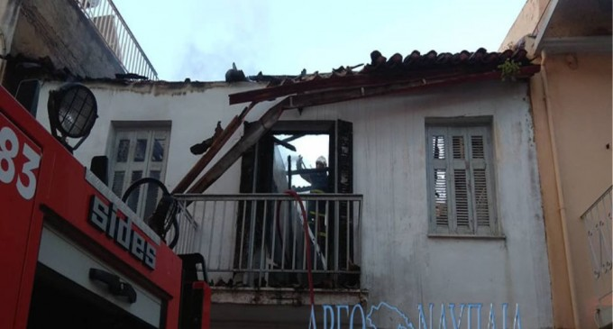 Τραγωδία στο Ναύπλιο: Νεκρή γυναίκα από φωτιά σε διπλοκατοικία
