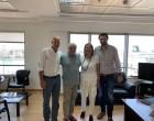 Συνάντηση Γ.Γαβρίλη με εκπροσώπους του Εμπορικού Συλλόγου Πειραιά