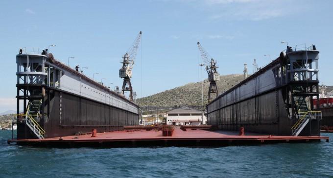 ΟΛΠ: «Άνοιγμα» στην ναυπηγοεπισκευή