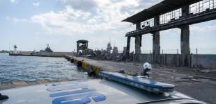 Λιμάνι Πειραιά: Ασφαλίστηκε η πύλη Ε1, στο σημείο της κατάρρευσης