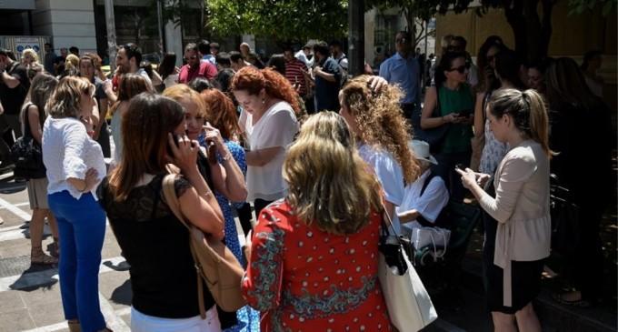 Σεισμός στην Αθήνα: 20.000 κλήσεις το δευτερόλεπτο μέσω κινητών