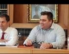 Επίσκεψη του νέου υπουργού Χ. Θεοχάρη στο ΕΕΠ έπειτα από κάλεσμα του προέδρου Γ. Βουτσινά