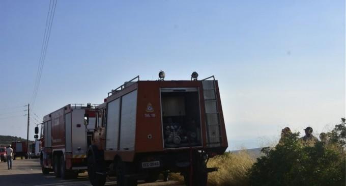 Φωτιά σε εξέλιξη στο Ρέμα Κοκκιναρά στην Κηφισιά