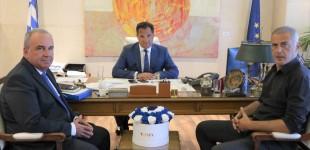 Όσα υποσχέθηκαν Άδωνις Γεωργιάδης και Χάρης Θεοχάρης για τον Πειραιά – Συνάντηση με τον δήμαρχο Γιάννη Μώραλη