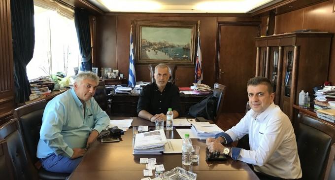 Γιάννης Μώραλης: Συνάντηση με το νέο Ταξίαρχο  της Αστυνομικής Διεύθυνσης Πειραιά –«Δύο ζητήματα που χρήζουν άμεσης αντιμετώπισης»