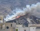 Φωτιά στον Υμηττό – Συναγερμός στην Πυροσβεστική