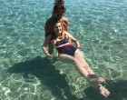 Συγκίνηση για τη Μυρτώ της Πάρου: Στη θάλασσα επτά χρόνια μετά τη φρικτή της κακοποίηση