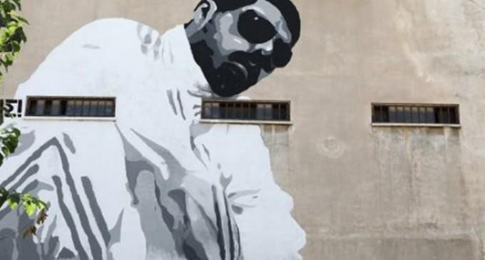 Το επιβλητικό γκράφιτι για τον Παύλο Φύσσα στο Κερατσίνι (φωτό)