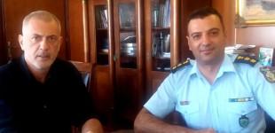 Συνάντηση Δημάρχου Πειραιά με τον Διοικητή της Τροχαίας – Μίλησαν για προβλήματα που αντιμετωπίζει η πόλη