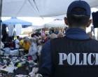 Ευρεία αστυνομική επιχείρηση για το παραεμπόριο στο κέντρο του Πειραιά